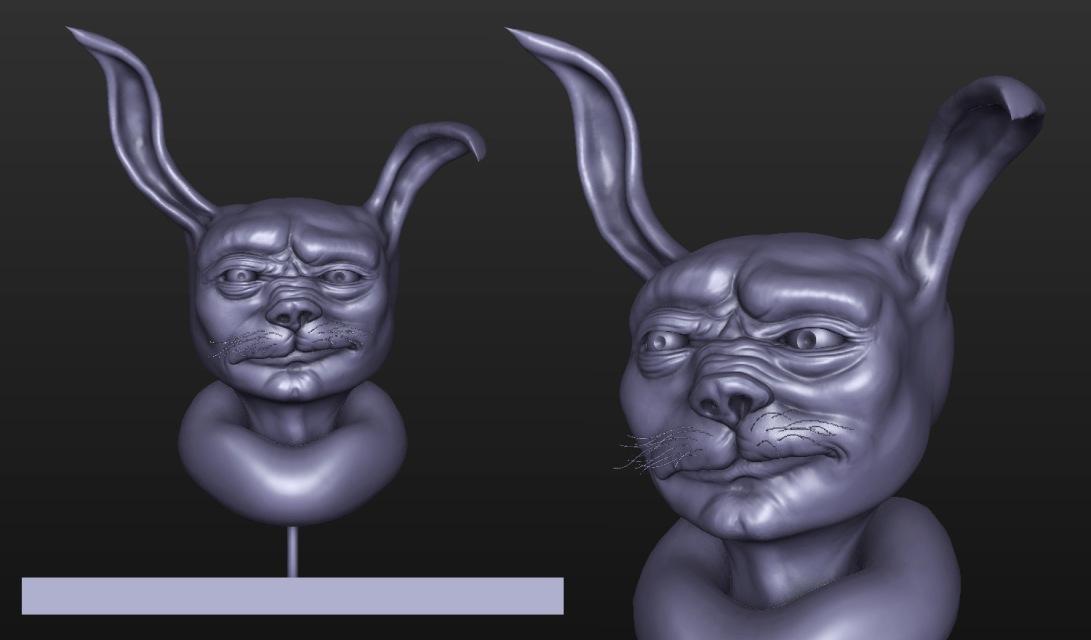 bunny_sculpt