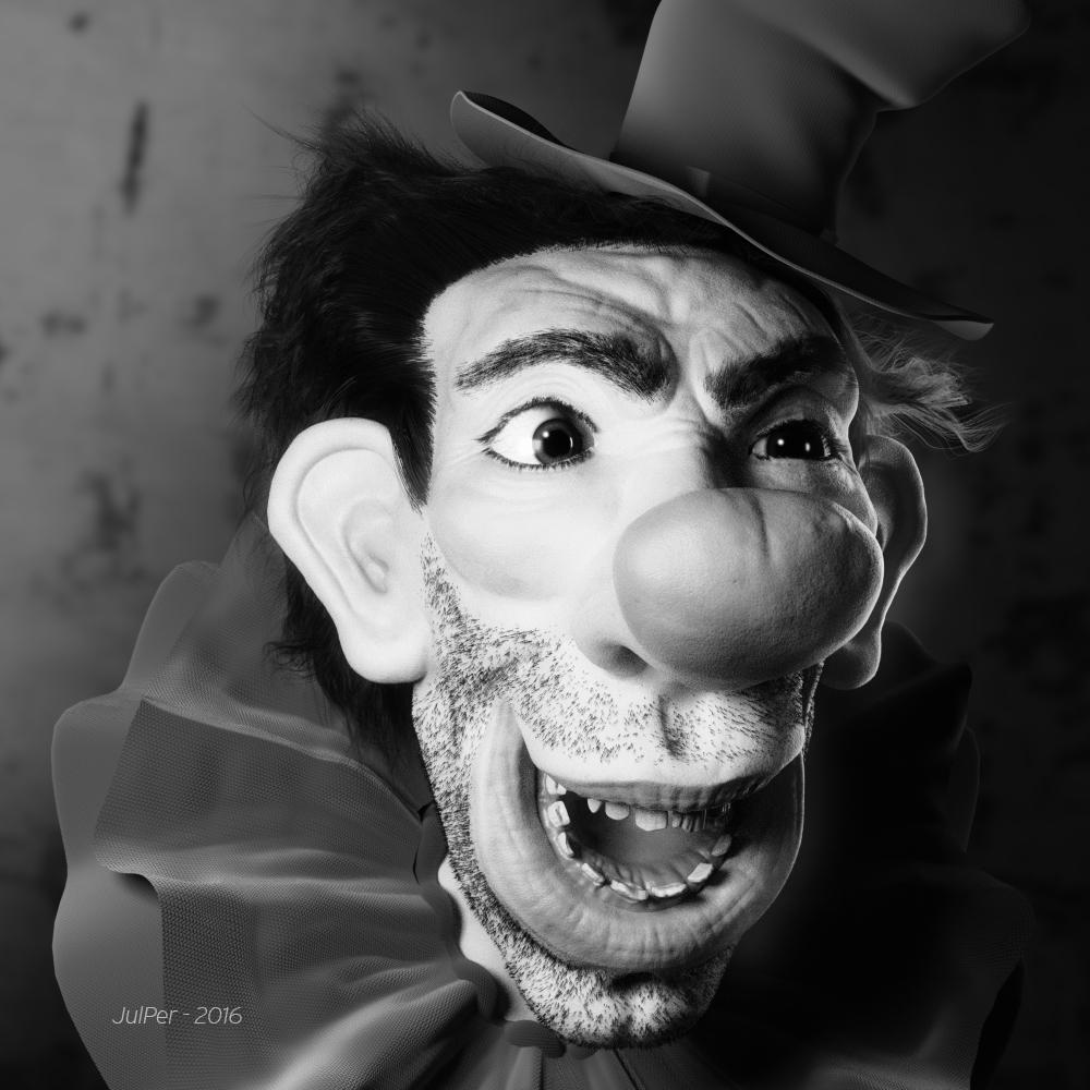 clown_byn