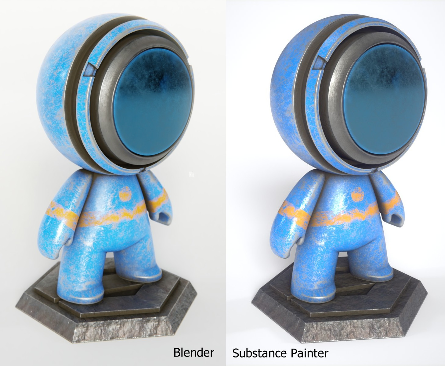 Principled shader (o Disney shader) en Blender Cycles – Julper
