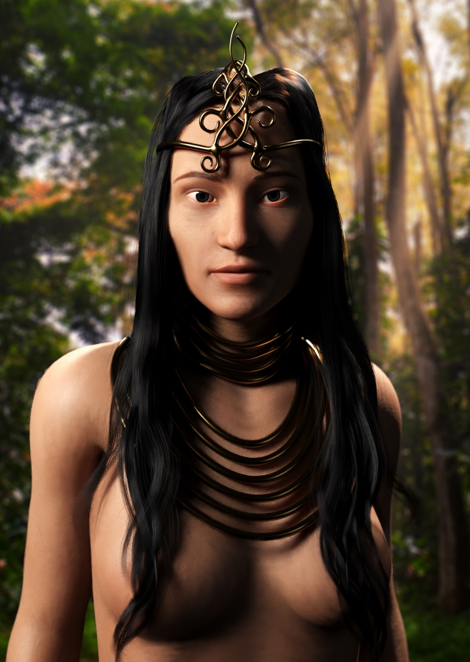 NativeGirl_RawRender